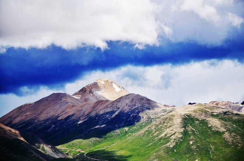 Pico de China Tíbet imagen de archivo libre de regalías