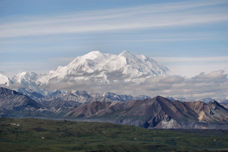 Pico de Denali fotos de archivo
