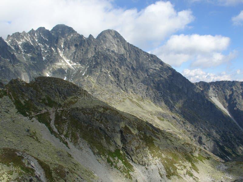 Pico de Gerlachs imagem de stock