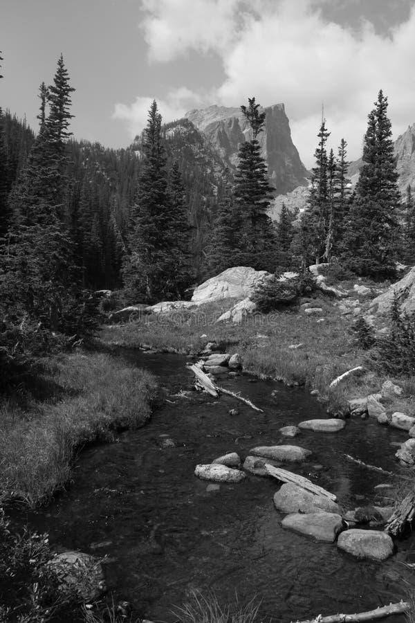 Pico de Haliett, Rocky Mountain National Park 2 foto de stock royalty free