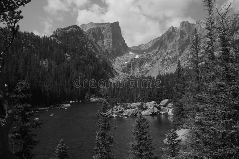 Pico de Haliett, Rocky Mountain National Park 8 fotos de stock