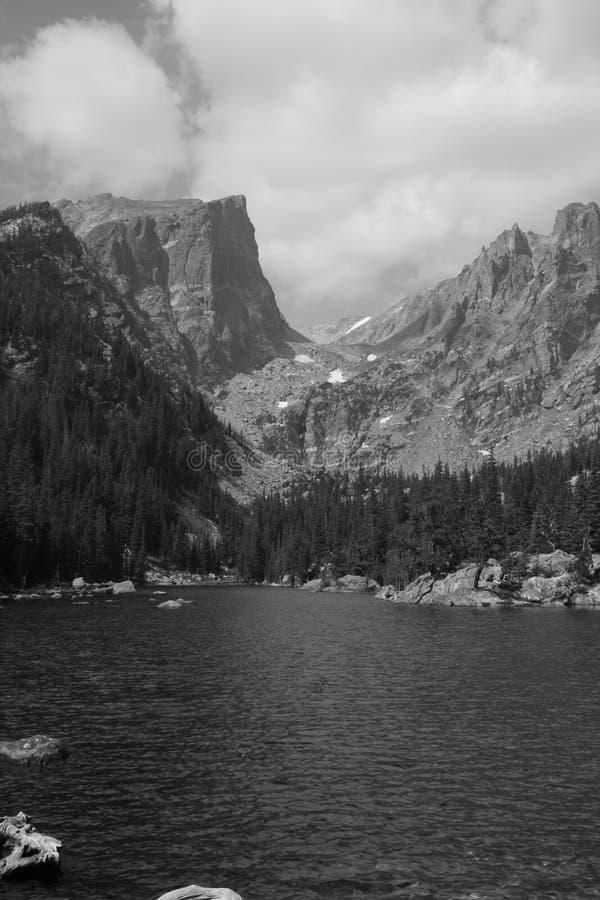 Pico de Haliett, Rocky Mountain National Park 5 foto de stock royalty free
