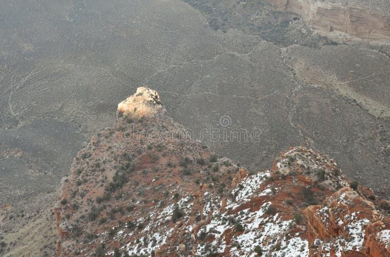 Pico de Ilumminated imagen de archivo libre de regalías