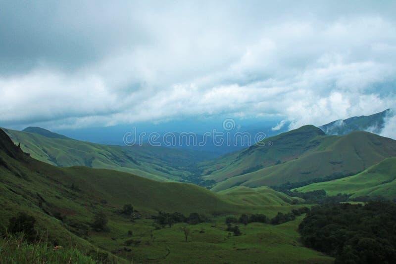 Pico de Kudremukh fotografía de archivo