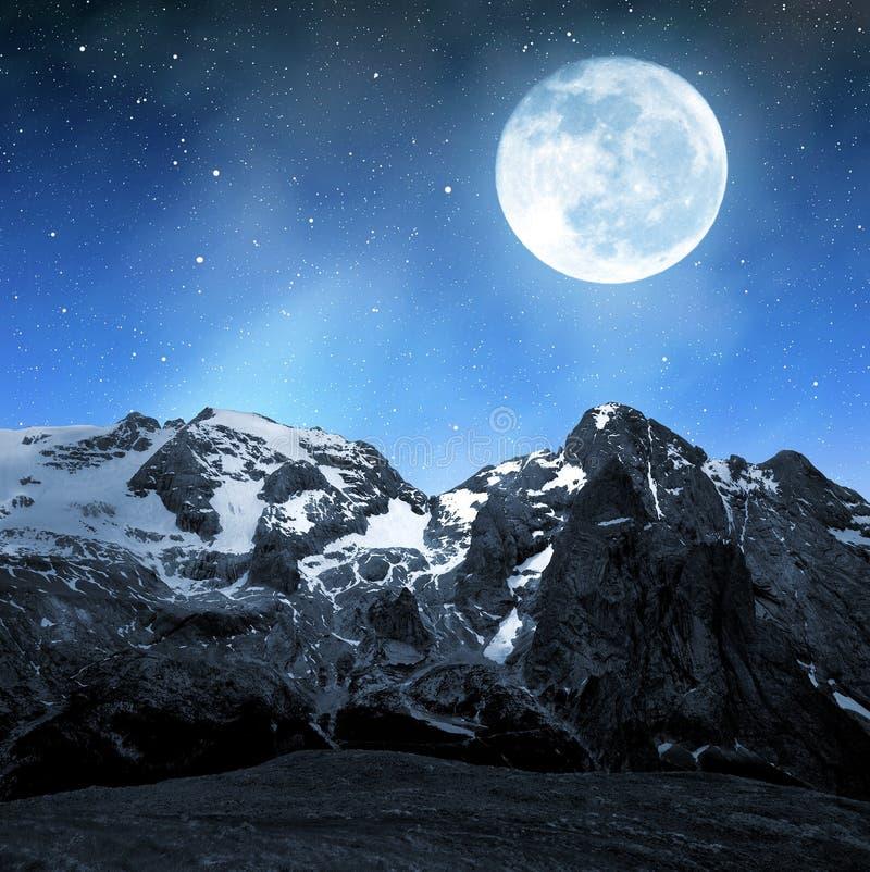 Pico de Marmolada foto de archivo libre de regalías