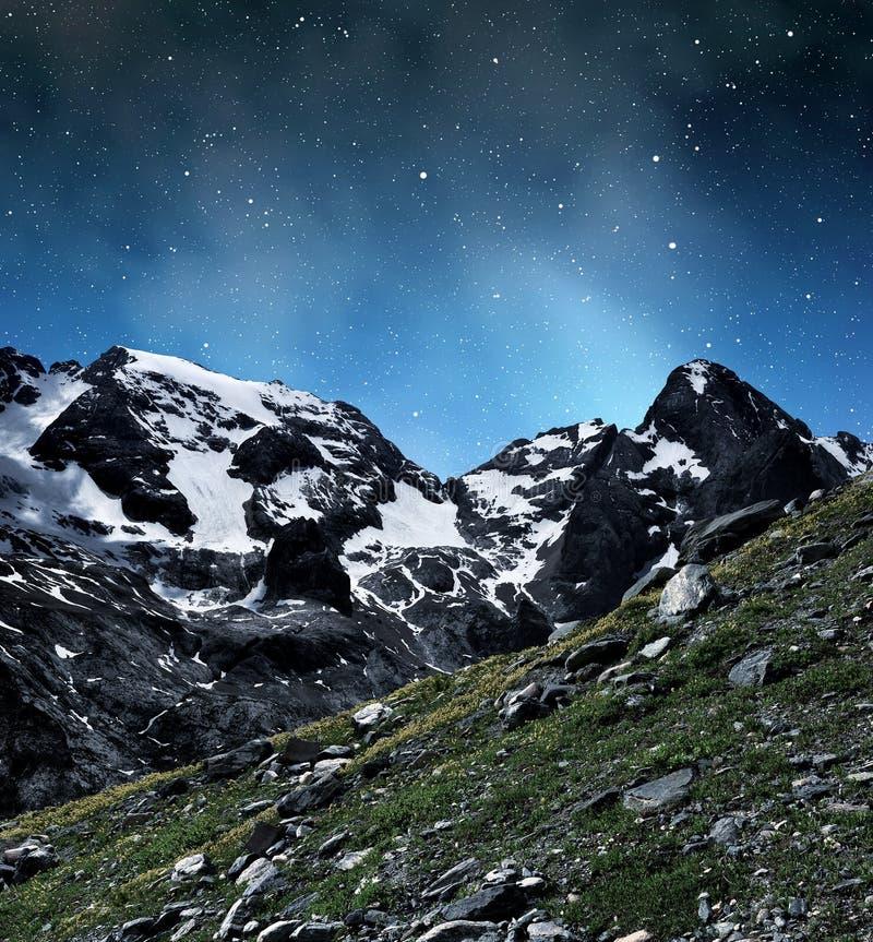 Pico de Marmolada imágenes de archivo libres de regalías