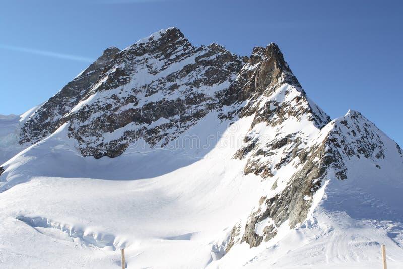Pico de montanha bonito foto de stock royalty free