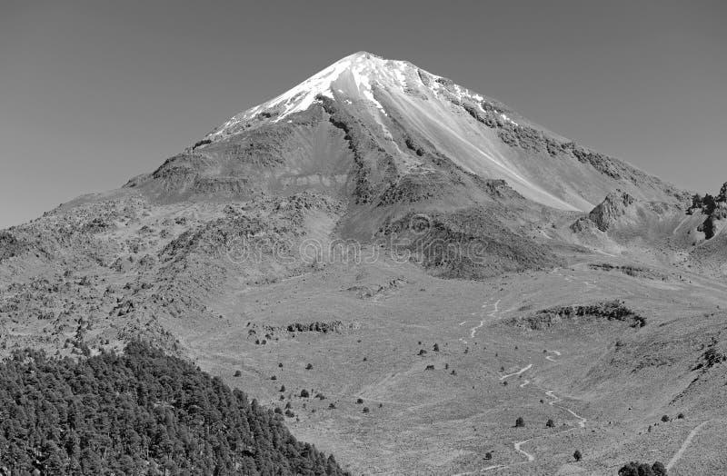Pico DE Orizaba vulkaan, Mexico stock foto's