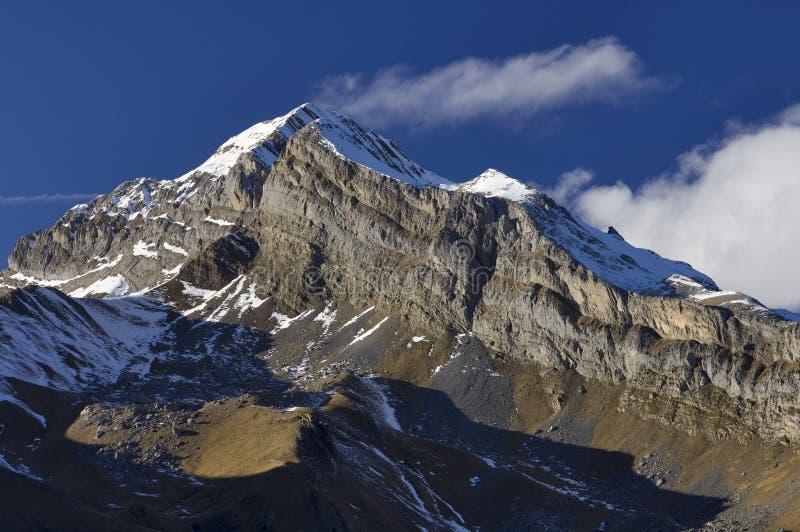 Pico de Otal fotografía de archivo