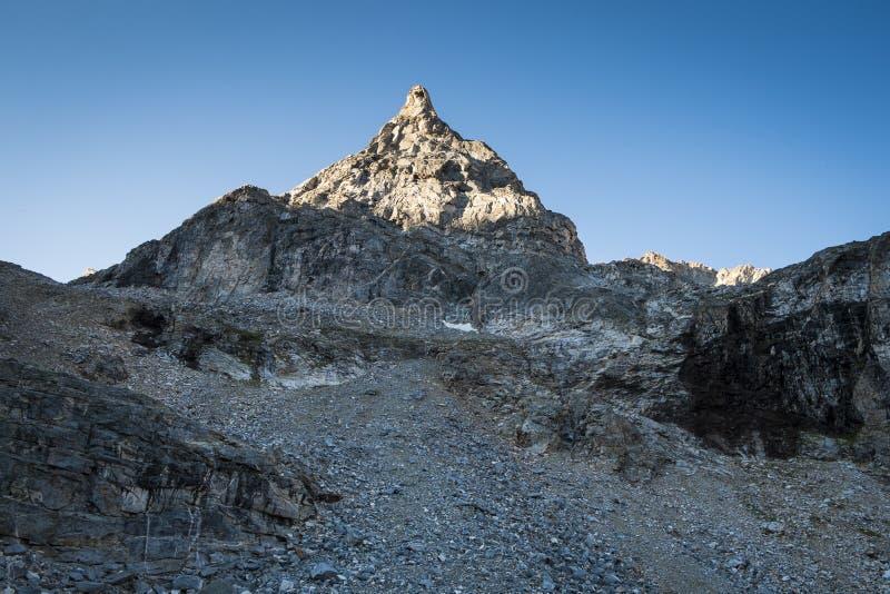 Pico de Rocky Mountain fotos de archivo libres de regalías