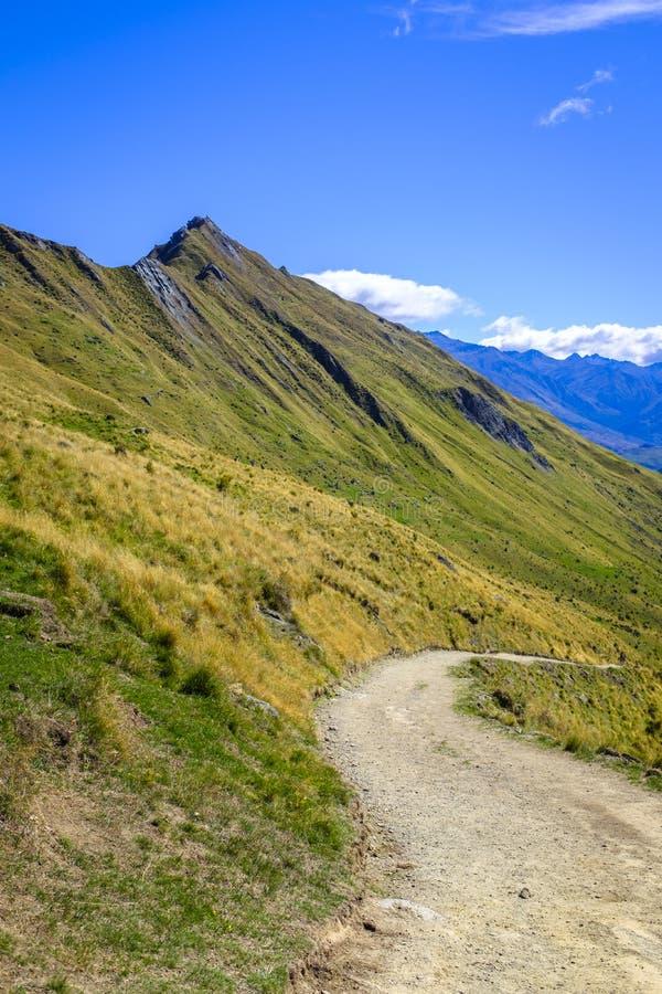 Pico de Roys cerca de Wanaka foto de archivo libre de regalías