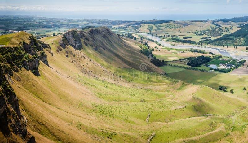 Pico de Te Mata imagen de archivo libre de regalías