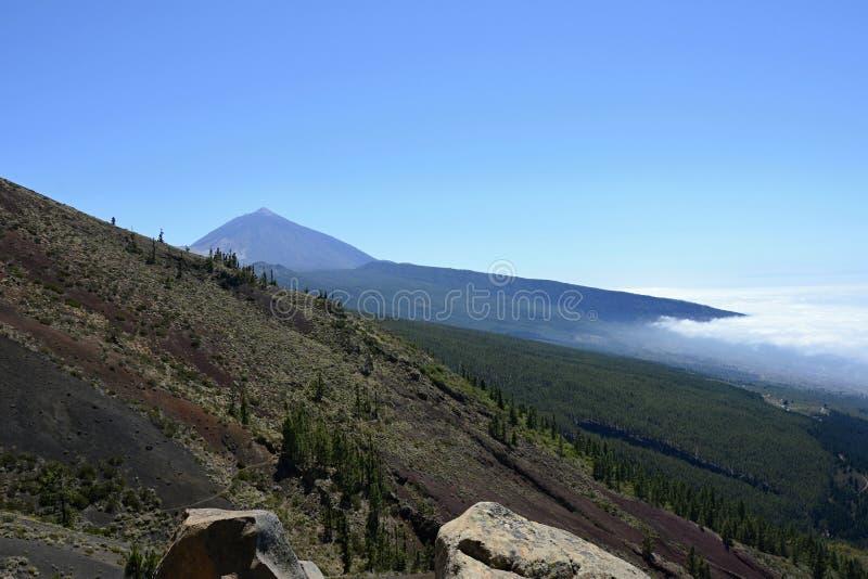 Pico de Teide (κοιμισμένο ηφαίστειο), Tenerife, Κανάρια νησιά, Ισπανία, Ευρώπη στοκ φωτογραφία με δικαίωμα ελεύθερης χρήσης