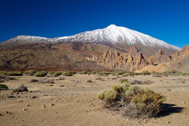 Pico de Teide στοκ εικόνες με δικαίωμα ελεύθερης χρήσης