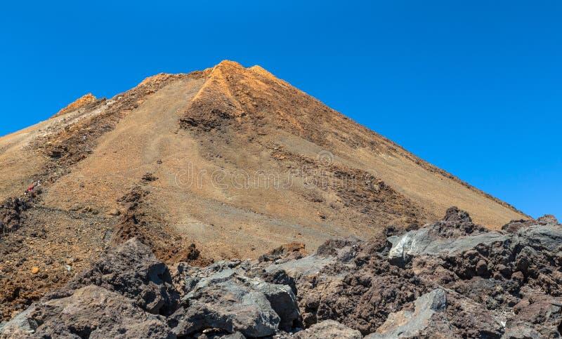 Pico de Teide foto de archivo libre de regalías