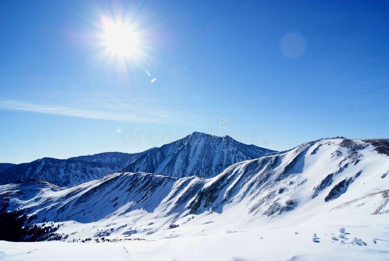 Pico de Torreys imagens de stock