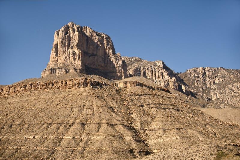 Pico del EL Capitan fotografía de archivo libre de regalías