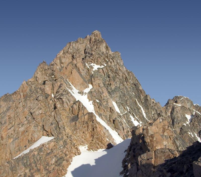 Pico del granito - Montana fotos de archivo libres de regalías
