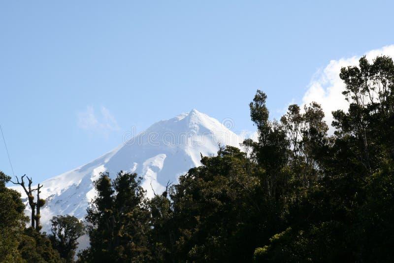 Pico del Mt Taranaki imágenes de archivo libres de regalías