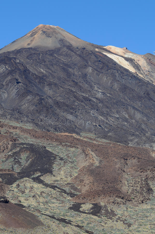 Pico del Teide imágenes de archivo libres de regalías