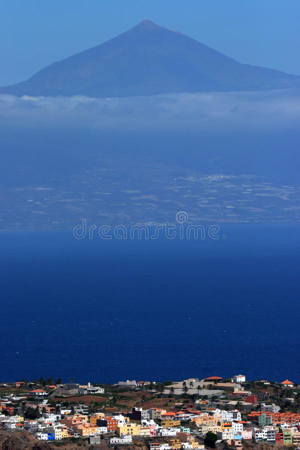 Pico del Teide photos libres de droits