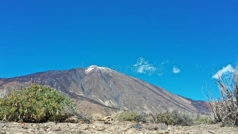 Pico del Teide, das höchste stockbilder