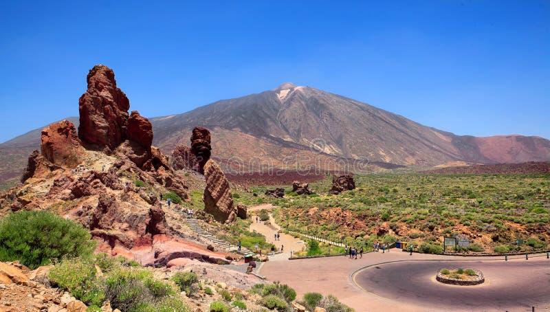 Pico del Teide, Ténérife, Espagne photographie stock libre de droits