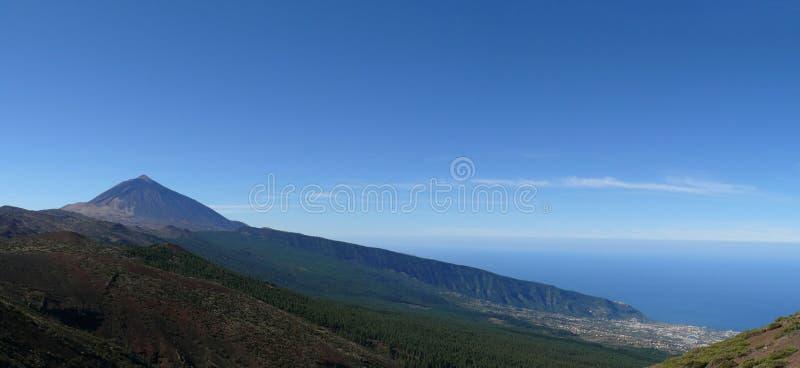 Pico del Teide - Tenerife stock afbeeldingen