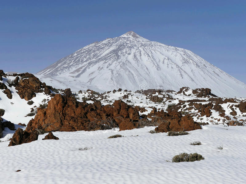 Pico Del Teide, Tenerife zdjęcie royalty free