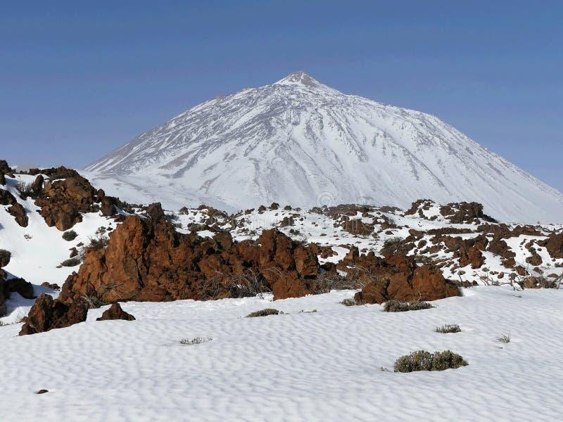 Pico del Teide,Tenerife royalty free stock photo