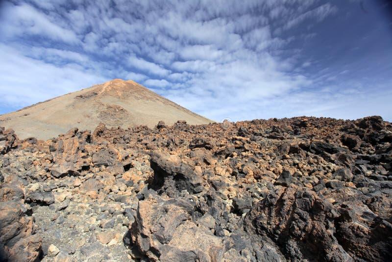 Pico Del Teide Volcano Stock Photography