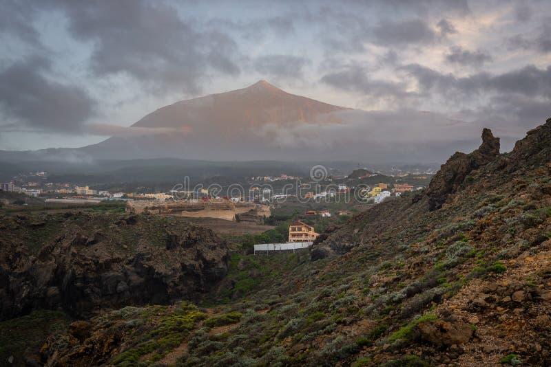 pico del volcán Teide, Isla Tenerife, España imagen de archivo libre de regalías