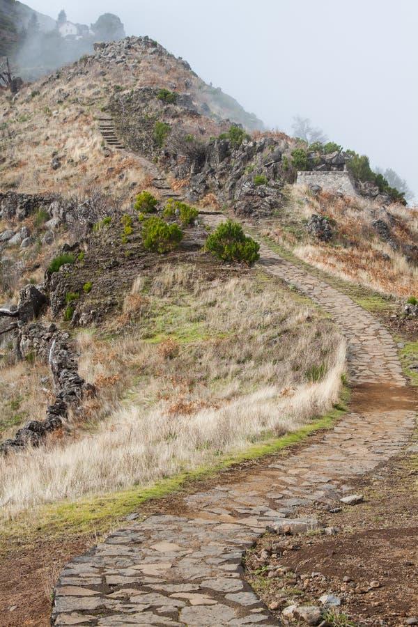 Pico do Arieiro in Madeira Island, Portuga royalty free stock images