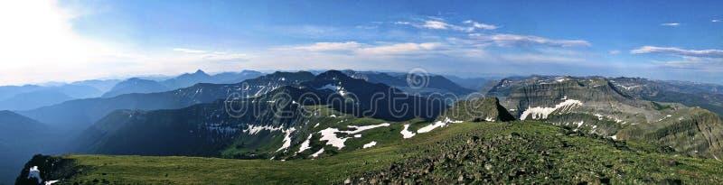 Pico do corvo, Montana foto de stock