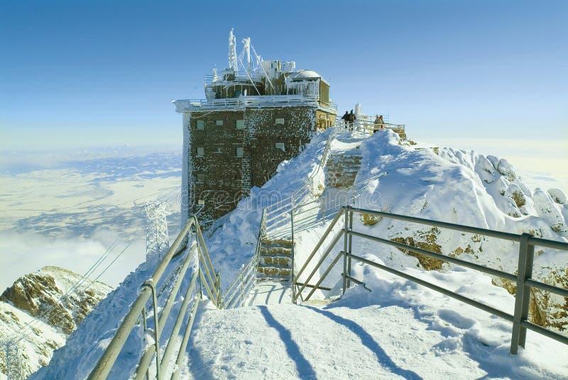 Pico elevado de Tatras imagem de stock royalty free