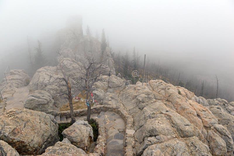 Pico en el Black Hills, Dakota del Sur de Harney imagen de archivo libre de regalías