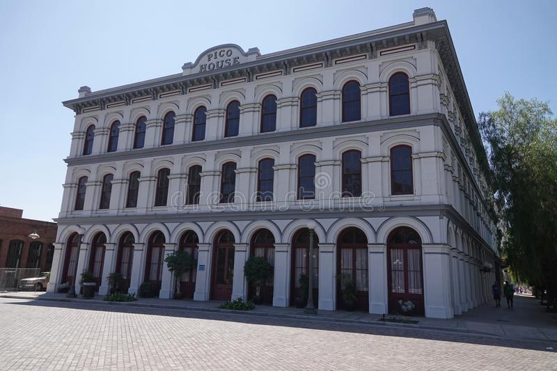 Pico House Hotel historique à Los Angeles du centre, la Californie photos stock
