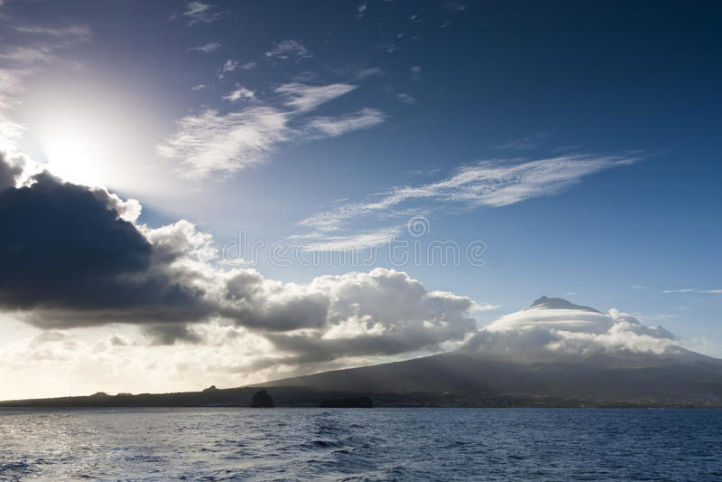 Pico Insel lizenzfreies stockbild