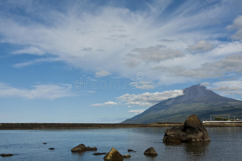 Pico Island royalty free stock photography