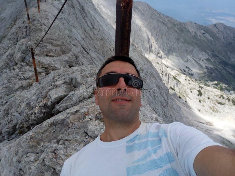 Pico Koncheto de Bansko foto de archivo libre de regalías