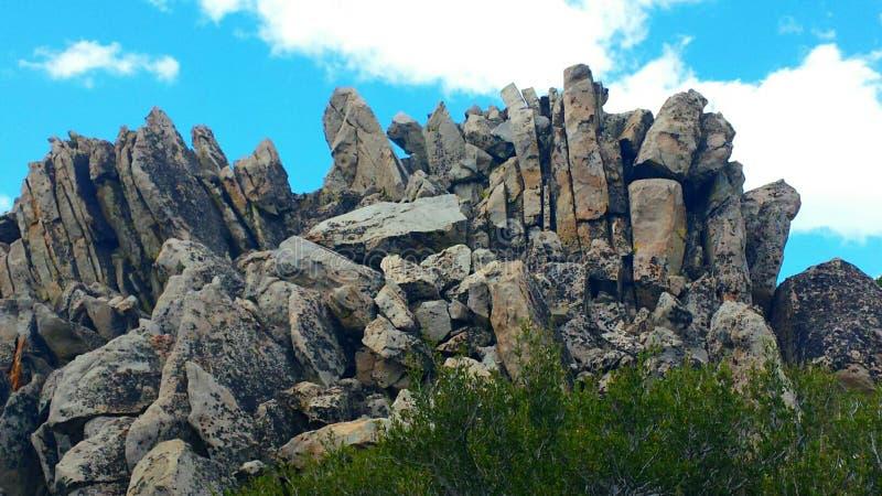 Pico rocoso imagen de archivo