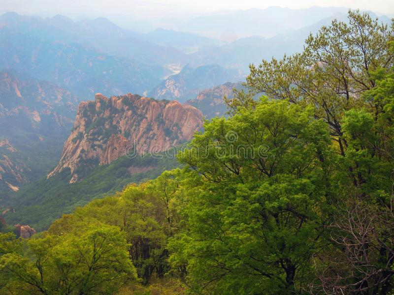 Pico velho, Hebei, China foto de stock royalty free