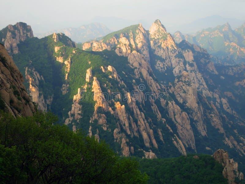 Pico velho, Hebei, China fotografia de stock