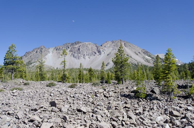 Pico vulcânico fotografia de stock royalty free