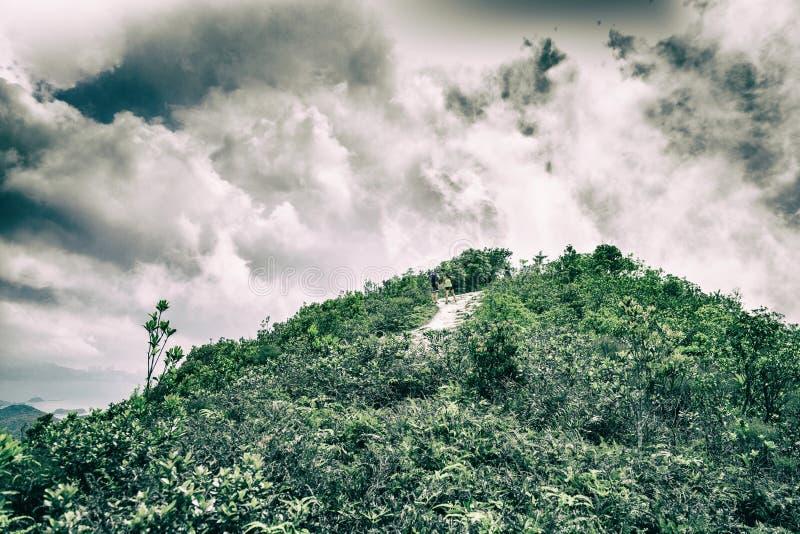 Pico y Cloudscape imagenes de archivo