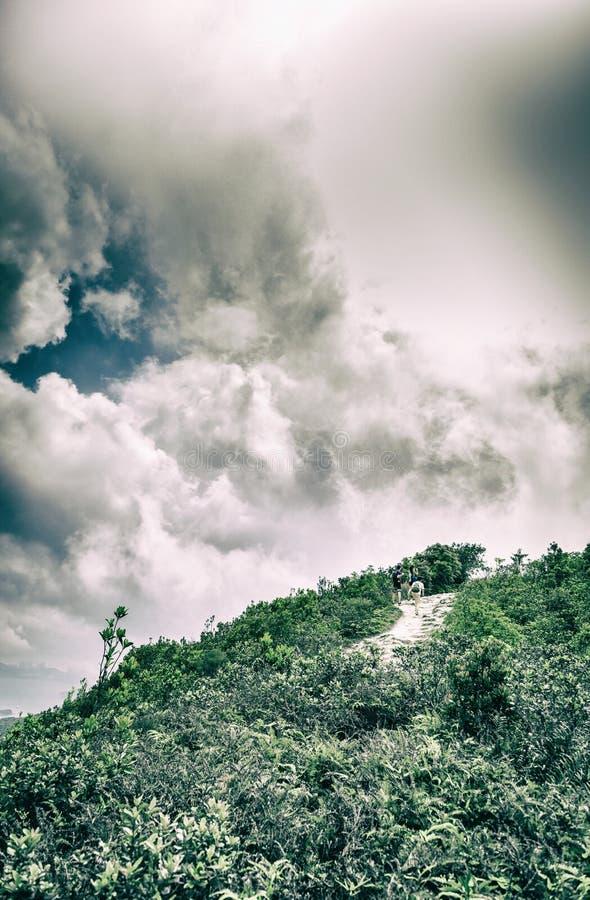 Pico y Cloudscape fotografía de archivo