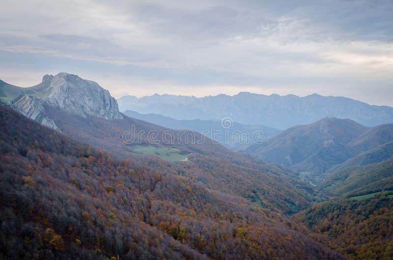 Picos de Europa de la province de Palencia image libre de droits