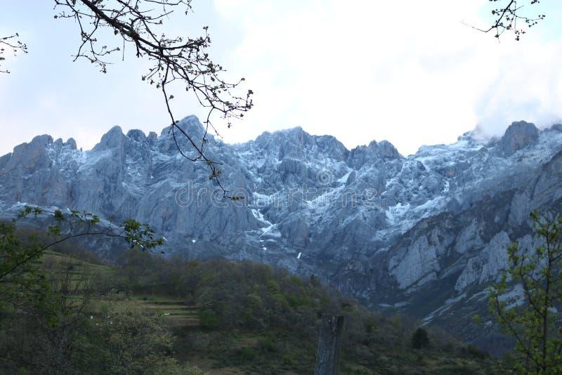 Picos de Europa, Spagna immagini stock