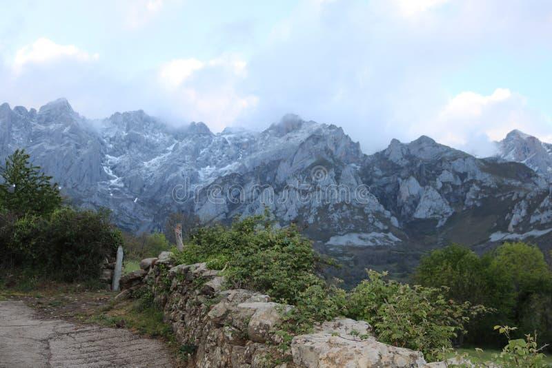 Picos de Europa, Spagna immagini stock libere da diritti