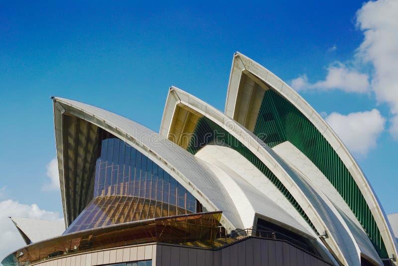 Picos de Sydney Opera House imagem de stock